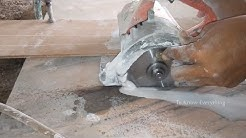How to Cut Marble | Marble Cutting Saw | Marble Cutter | Circular Saw | Professional Power Tool
