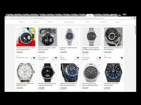 US$100 CHALLENGE - Build a watch collection for US$6000-