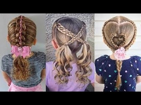Satisfying 8 Cute Little Girl S Hairstyle Tutorials Viral