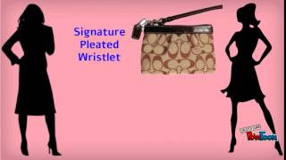 Exclusive Collection Of Coach Wristlets By Lusso Boutique