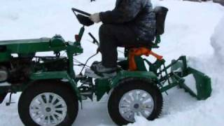 Самодельный трактор К...