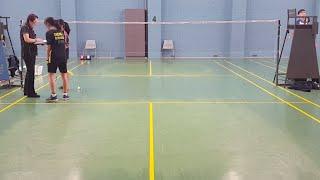 2019 Australasian U17 Championships GS ZHENG J vs KUSTIADI P
