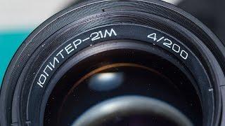 Видео тест объектива юпитер 21м 4/200 + Canon 550D(Видео тест советского телеобъектива Юпитер 21М. С рук конечно лучше не снимать. Вес этого монстра не много..., 2016-10-03T12:08:05.000Z)