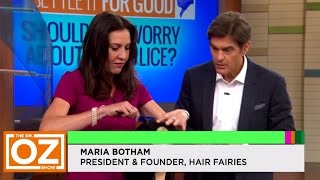"""How to Get Rid of Lice"" - Hair Fairies on The Dr. Oz Show!"