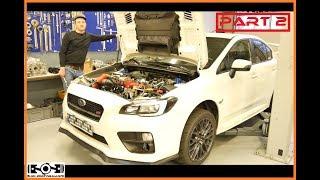 HOW TO Engine Install Subaru Impreza WRX/STI EJ20/EJ25 PART 2 l Subi-Performance