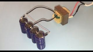 How to make Voltage doubler, How to increase voltage using Diodes and Capacitor thumbnail