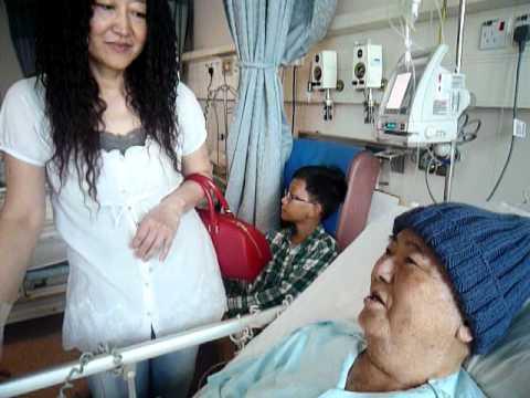 Visiting Looi Chee Keat At Tan Tock Seng Hospital On 10/10/10