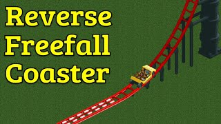 RCT2 Ride Overview - Reverse Freefall Coaster
