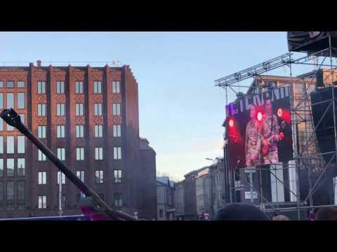 "Veteranirock. United States Army Europe Soldiers Chorus 3 ""Somebody to love"". Tallinn 2017"