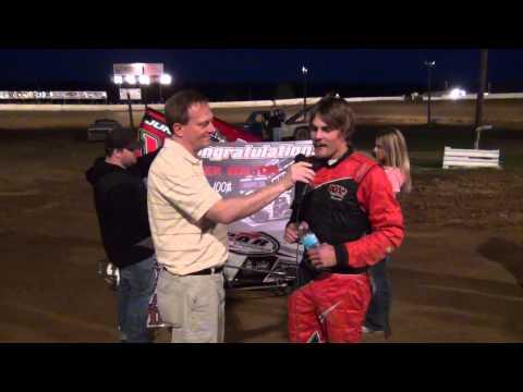 Tyler Walton Victory Lane Path Valley Speedway