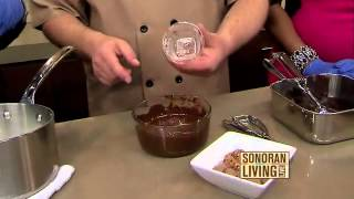Slade Grove On Abc15 Making Quick And Easy Dark Chocolate Truffles