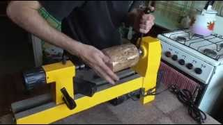 Точение деревянной шкатулки