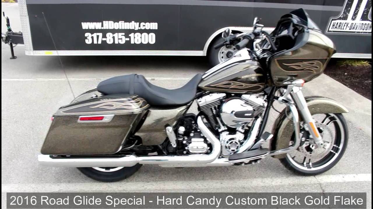 2016 Road Glide Special - Hard Candy Custom Black Gold ...