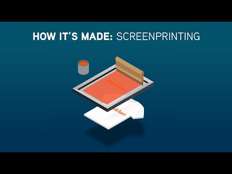 How It's Made: Screenprinting T-Shirts at PepWear