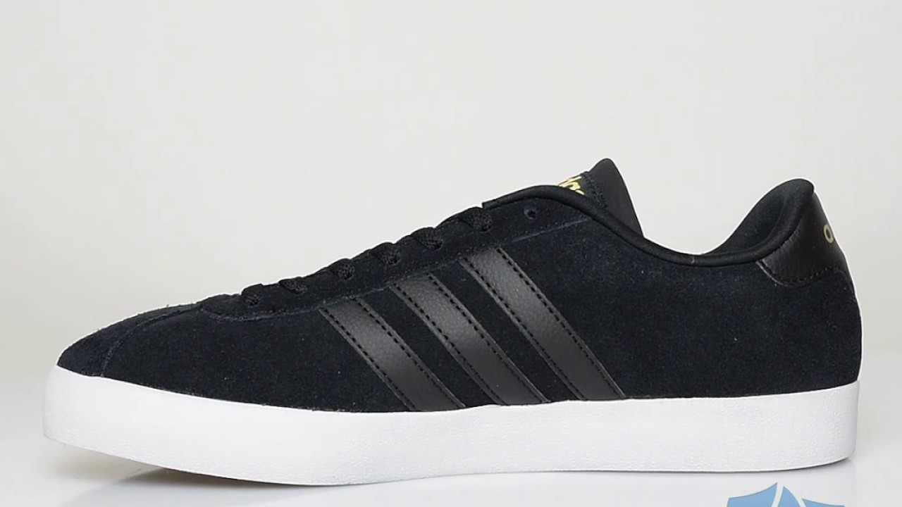 new zealand adidas vl neo court leather mens trainers black 44085 814b8 83791e4bb