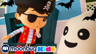 No No Spooky Monsters Song - Halloween Dress Up Song +More Halloween Kids Songs | Little Baby Bum