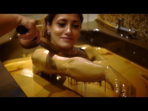 The Natftalan bath oil, Azerbaijan's slick beauty treatment