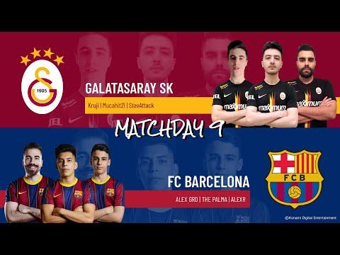 Galatasaray SK vs. FC Barcelona | Highlights Matchday 9 eFootball.Pro IQONIQ 2020-2021