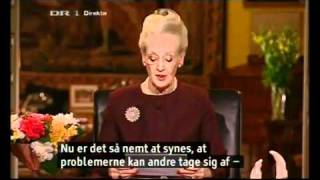 Margrethe II Queen of Denmark! (Danish Language)