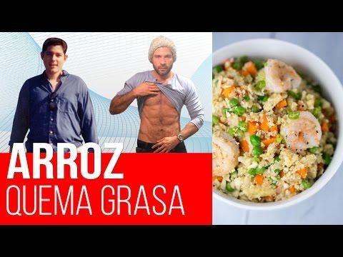 El MEJOR arroz para Bajar de Peso. Arroz Saludable sin Carbohidratos - Dieta Cetogénica