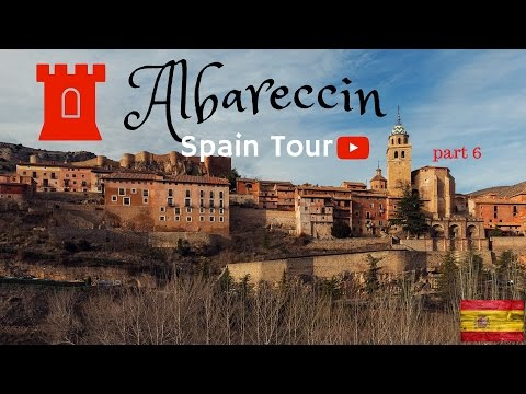 Albarracin Spain Tour part 6 Drone views