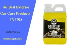 Top 6 Best Exterior Car Care Products With Free Shipping in USA - Best Car Care.
