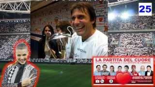 Antonio Conte Allenatore della Juventus - Interviste dopo Partita del Cuore 2013