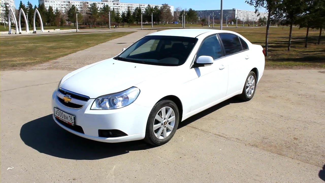 2010 Chevrolet Epica. Start Up, Engine, and In Depth Tour ...