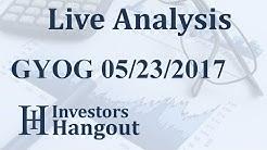 GYOG Stock Live Analysis 05-23-2017