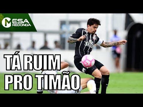 Ponte Preta 1x0 Corinthians | 4 Jogos Sem Vitória E Título Ameaçado - Mesa Redonda (29/10/17)