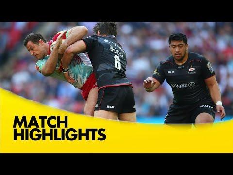 Saracens v Harlequins - Aviva Premiership Rugby 2016-17