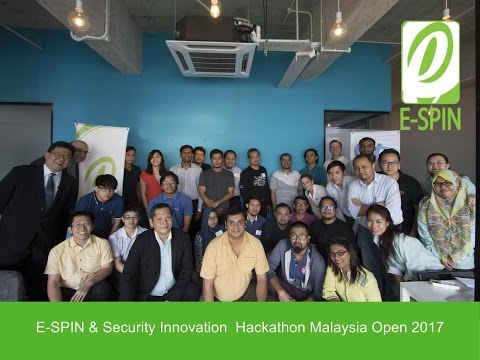 E-SPIN & Security Innovation Hackathon Malaysia Open 2017