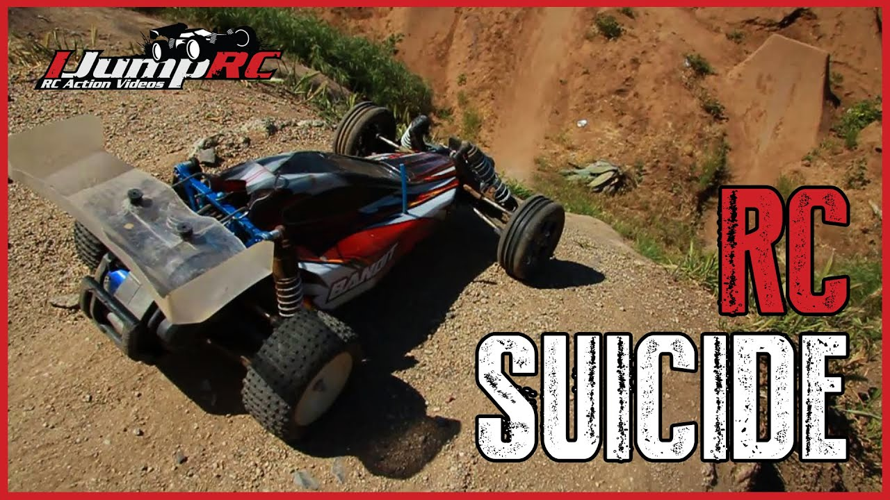 HUGE RC Car Jumps RC Suicide Mission YouTube - Cool cars jumping