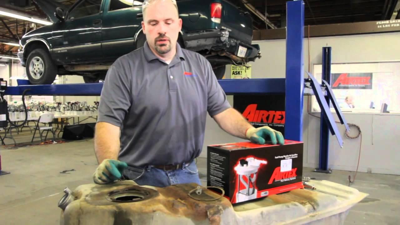 How To Install Fuel Pump E M In A Chevrolet Blazer