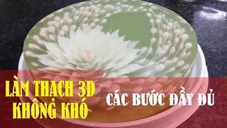 Video LÀM THẠCH 3D KHÔNG KHÓ - Đầy đủ 4 bước làm thạch 3D FULL HD download MP3, 3GP, MP4, WEBM, AVI, FLV Mei 2018