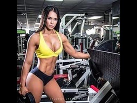 Самые сексуальные женщины в бодибилдинге и фитнесе видео
