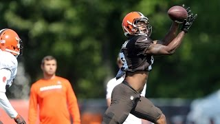 Corey Coleman: An emerging star at Cleveland Browns training camp