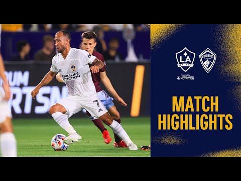 Los Angeles Galaxy Colorado Goals And Highlights