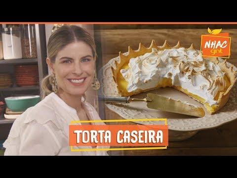 Torta de limão com massa caseira e SEM leite condensado  Rita Lobo  Cozinha Prática