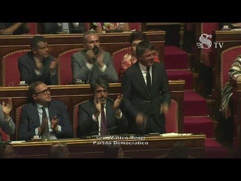 Crisi di governo, il discorso di Matteo Renzi in Senato: l'integrale