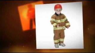 Child Fireman Costume: Boys & Girls, Infants & Adults
