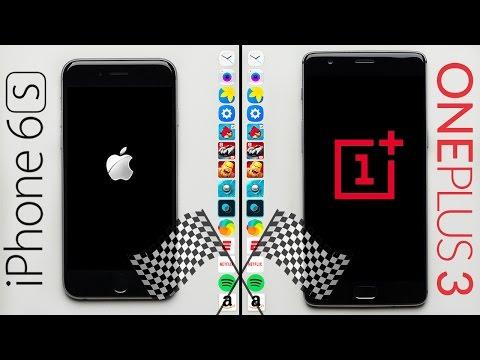iPhone 6S vs OnePlus 3 Speed Test
