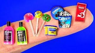 21 DIY Miniature 〜 Cosmetics, Oreo, Nesquik, Milk, Pasta and more