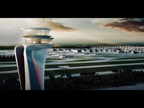 Istanbul New Airport's incredible design!
