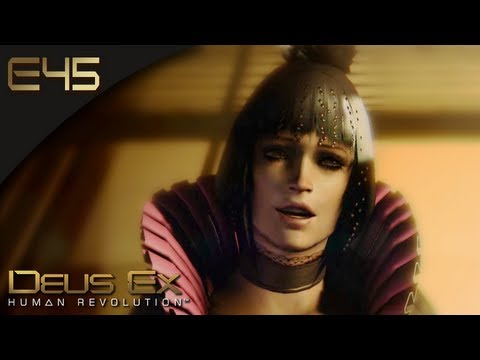 Deus Ex: Human Revolution [BLIND] - E45 - Eliza Cassan Is Not Attractive In Person (Gameplay)