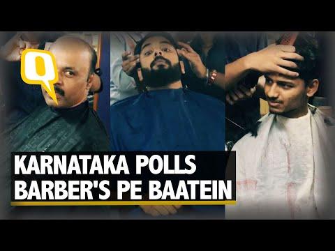 Barber's Pe Baatein - Karnataka Election Gyan at the Local Salon