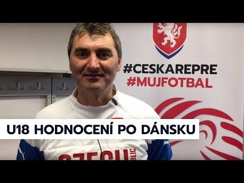 Hodnocení J. Suchopárka, F. Kaloče a J. Kollera po výhře ČR U18 nad Dánskem