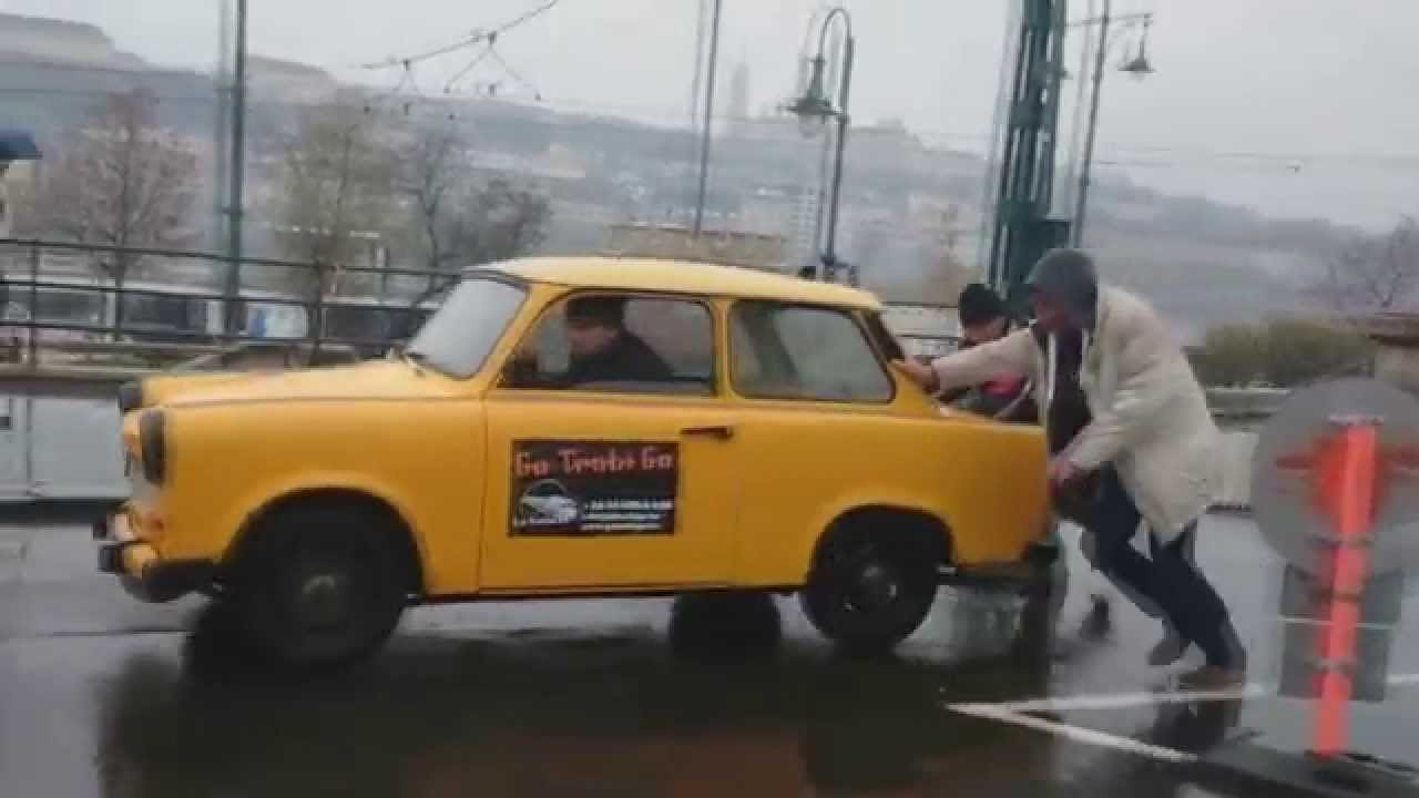 Trabant Cars In Budapest Youtube
