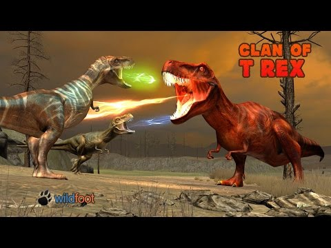Clan of T-Rex By Wild Foot Games - Android / iOS - Gameplay