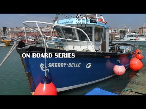 On Board The Skerry Belle Out Of Ramsgate Kent UK